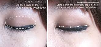 korean eyes8 take any matte light coloured eyeshadow