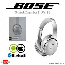 bose noise cancelling headphones 35. bose quietcomfort 35 ii wireless bluetooth noise cancelling headphones silver p