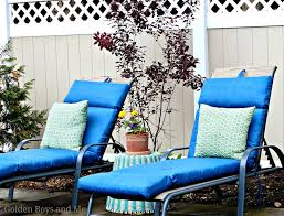 Outdoor Lounge Chair Cushions Sunbrella Outdoor Chaise Lounge