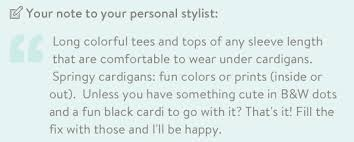 Stitch Fix Notes March Stitch Fix Review Note To Stylist By Kim Bongiorno