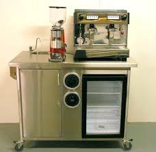 office coffee cart. Coffee Stand For Kitchen Carts Office Small Push Along Trolley A Cart 3