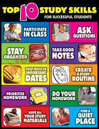 Top Ten Study Skills For Successful Students Cheap Charts Gr