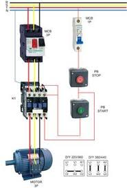 contactor wiring guide for 3 phase motor with circuit breaker motor contactor wiring diagram 3 phase motor wiring diagrams electrical info pics