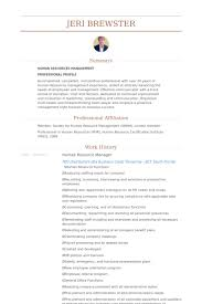 Human Resource Manager Resume Samples - Visualcv Resume Samples Database