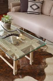 four hands ryan coffee table theory is defined by stylish and bold shapes every