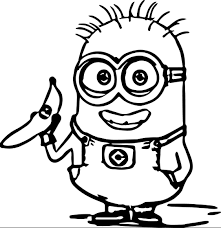 Despicable me 2 coloring pages minions   coloring pages. Minions Coloring Page Coloring Page Book For Kids