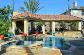 pool and outdoor kitchen designs covered patio design ideas luxury swimming porch with fireplace des