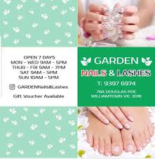 garden nails lashes