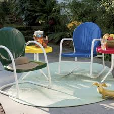 Retro Metal Lawn Furniture from Seventh Avenue