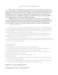 critical essay samples critical essay example rome fontanacountryinn com