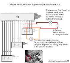 1998 range rover transmission diagram of the coils wiring diagram