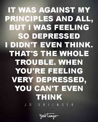 Depression Quotes Simple 48 Quotes About What Depression Feels Like YourTango