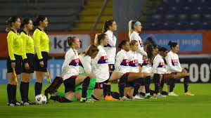Two days before the tokyo 2020 opening ceremony, the world champion, olympic favorite, seemingly unstoppable u.s. Uswnt Wore Black Lives Matter On Uniforms In Statement To Affirm Human Decency Cnn