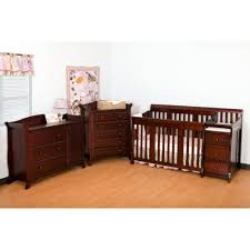 portofino 4 in 1 fixed side convertible crib changer by stork craft 6