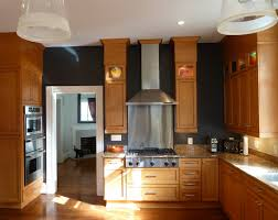 For Kitchen Walls This Is How To Deal With Honey Oak Cabinets Paint The Walls