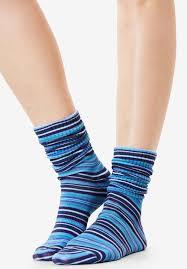 Patterned Crew Socks Simple Decorating Design