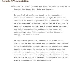 sample annotated bibliography apa annotated bibliography example apa  SlideShare