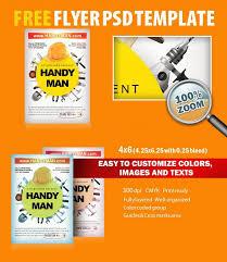 free handyman flyer template handyman psd flyer template free download 8079 styleflyers