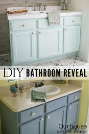 easy to make bathroom updates diy bathroom renovation reveal 3