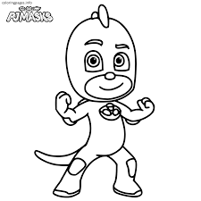 Pj Masks Coloring Pages Coloringsws