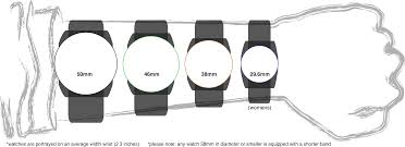 Watch Band Size Chart Watch Size Guide Tactical Watch Watches Wear Watch