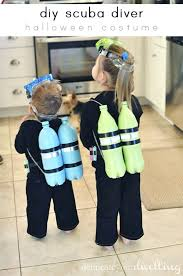 learn how to make a fun easy and inexpensive diy scuba diver costume for