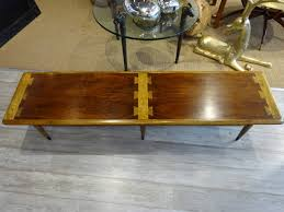 coffee table extra long lane dovetail coffee table at stdibs