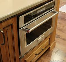 kitchenaid convection microwave. KitchenAid Built-in #convection #microwave Installed Into A Large Kitchen Island. | VillageHomeStores.com Kitchenaid Convection Microwave