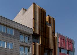 wooden office buildings. Wooden Office Buildings. Lp2 Completes Block With Louvred Facades Buildings . K
