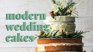 Modern Wedding Cakes For The Unconventional Bride