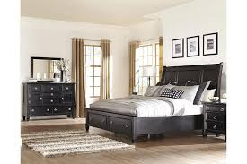 Greensburg Piece Queen Master Bedroom W Storage Ashley