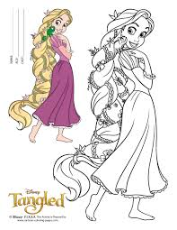 Small Picture Printable Disney Rapunzel Coloring Pages RedCabWorcester