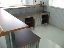 metal home furniture. Corrugated Counter For The Studio! Probably Only Checkout Counter. Metal Home Furniture