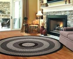 braided round rug cotton mills room 1 gm rugs ll bean