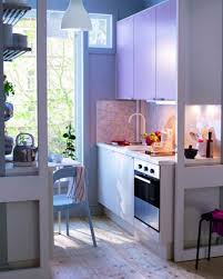 ikea tiny kitchen design under wall cabinet lights white high gloss countertop white solid wood cupboard