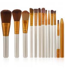 12 pcs makeup tools kit cosmetic eyeshadow foundation concealer brushes set