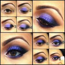 eyes brown makeup for brown eyes eyeshadow eye purple eyeshadow smoky makeup smokey eye famous eye violet smoky theme makeup