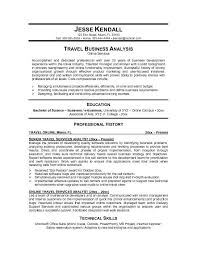 sample travel agent resume experience resumes