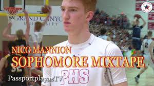 Nico Mannion Sophomore MIXTAPE ...