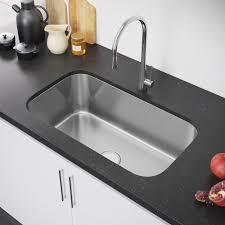 exclusive heritage 32 x 19 single bowl undermount stainless steel kitchen sink ksd 3219 s ub exclusive heritage usa