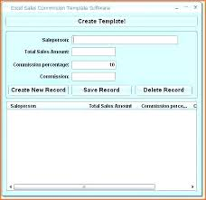Commission Schedule Template Examples Of Sales Commission Agreement