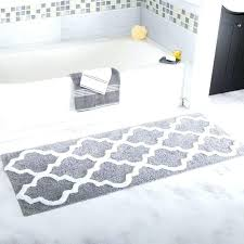 gray white striped bath rug brown and blue bathroom rugs c mat around toilet navy mats