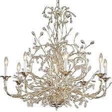 crystal leaf chandelier white chandelier leaf chandelier