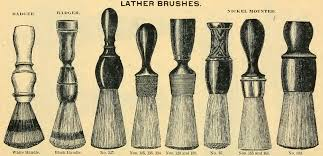 Image result for bristles up or down shaving brush