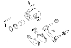 Yamaha xs brake caliper rebuild kit 32 1250