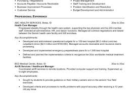 Accounts Payable Resume Examples Resume Template