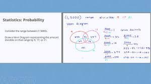 Statistics Probability 17 Venn Diagram Example Youtube