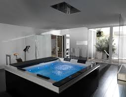 large modern bathroom. Exclusive Luxurious Bathtubs For Two Persons With Spa Home Design - Pictures, Photos, Images. SpasSpa BathroomsModern Large Modern Bathroom L