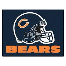 chicago bears rugs best images on bathroom rug set