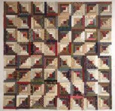How to Construct a Log Cabin Quilt Block & ... Example 6 of Log Cabin Block Layout ... Adamdwight.com